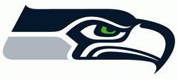 Seattle SEAHAWKS NFL dog Helmet Hoodie  in color Athletic Gray
