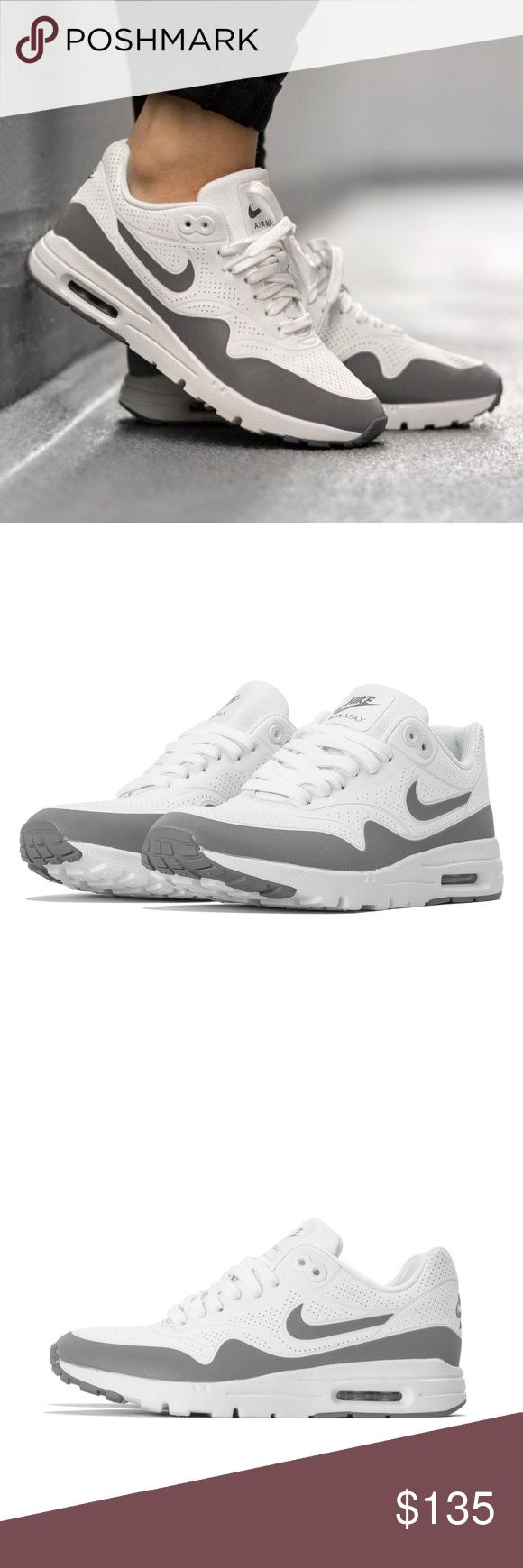 Nike air max Nike air max, grey and white, women's size 5. Super