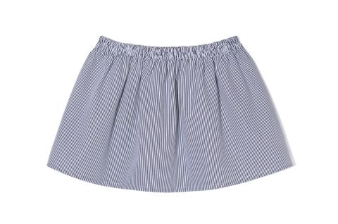 THE ODDER SIDE Striped mini skirt. Shop at www.theodderside.com