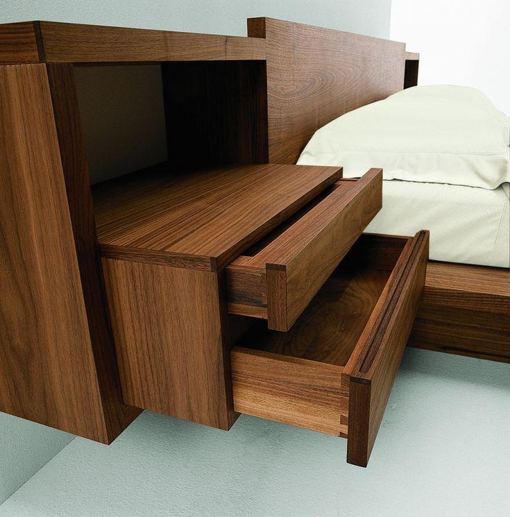 Die besten 25+ Nachttisch massivholz Ideen auf Pinterest - schlafzimmer aus massivholz