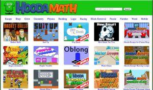 11 Free Math Sites for Kids:  Hooda Math