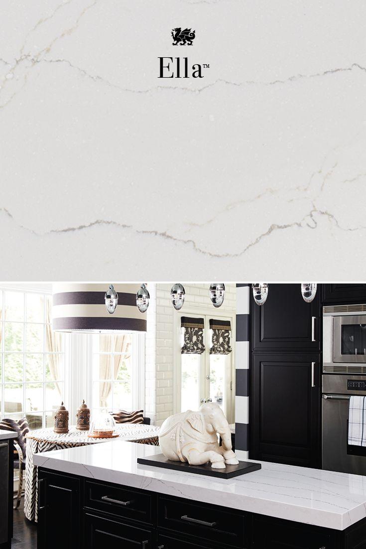 Refine Define Cambria Ella Types Of Kitchen Countertops