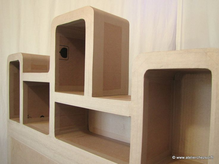 590 best Paper Products \ Furniture images on Pinterest Cardboard - fabriquer ses meubles de cuisine soi meme