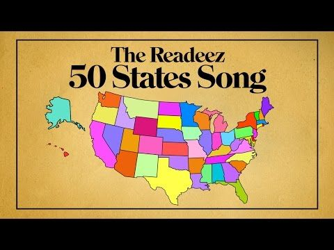 Readeez 50 States Song — Readeez