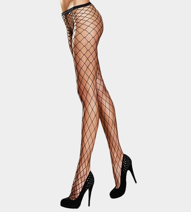 Regular Or Queen Size Seamless Fence Net Pantyhose Tights #Unbranded #Pantyhose