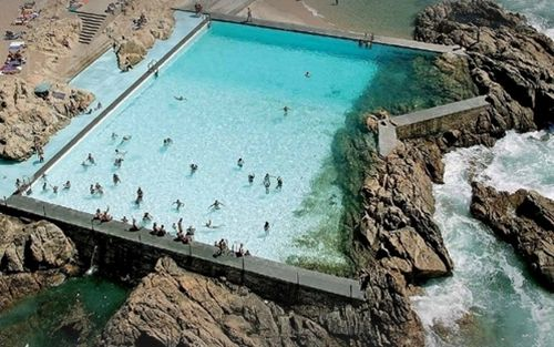 Le A Swimming Pools 1964 Le A Da Palmeira Portugal Alvaro Siza Places Pinterest