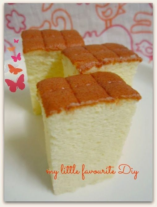 my little favourite DIY: Durian cotton cheese cake