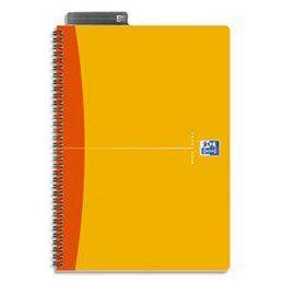 Oxford Office Essentials Cahier de Bureau 100 pages A4 Reliure Intégrale Couverture Souple Réglure 5×5 Coloris Aléatoire: Oxford Office…