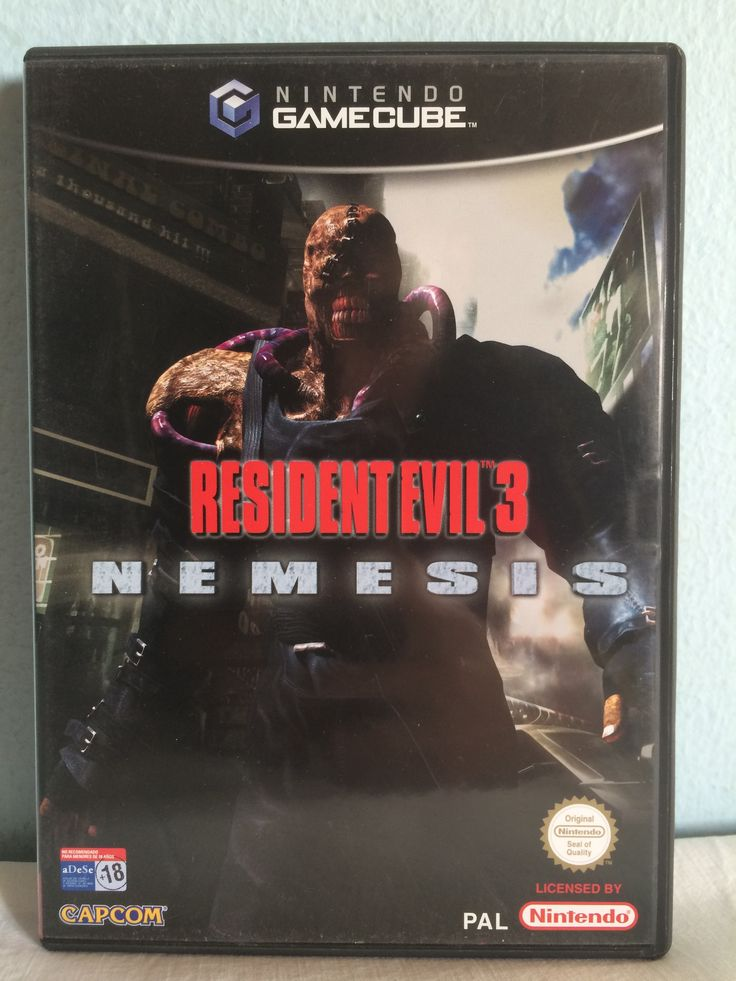 Resident Evil 3 Nemesis game.