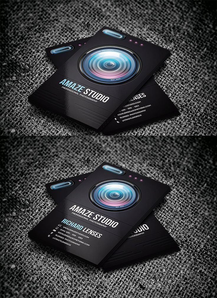 40 Photography Business Card Templates Inspiration Photography