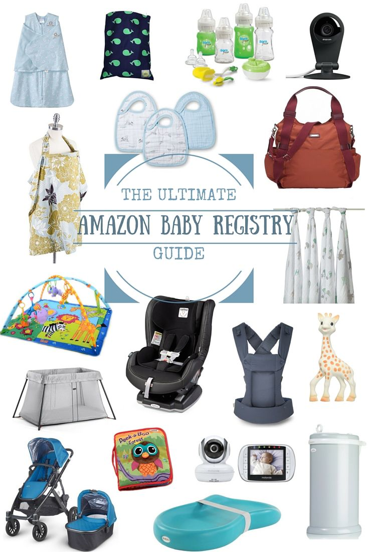The Ultimate Amazon Baby Registry Guide [Updated 2016] - Mommy to Max