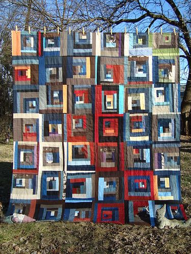 146 Best Images About Log Cabin Quilts On Pinterest