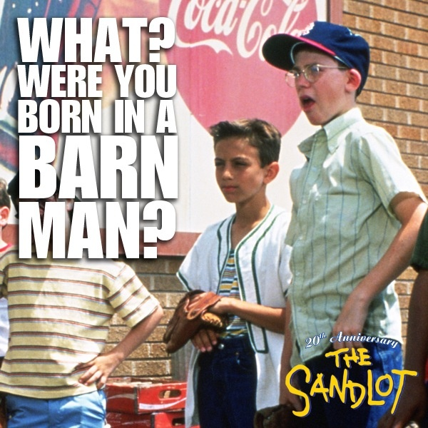 30 Best Movie Baseball Cards Images On Pinterest: Sandlot Funny Quotes. QuotesGram