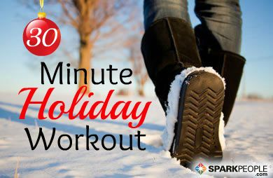 30-Minute Holiday Workout | Workout, Exercises and ...