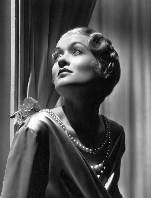 Constance Bennett photographed by George Hurrell, 1933