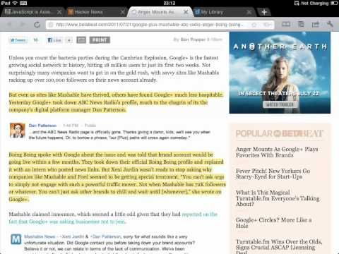 Diigo Browser for iPad - Chrome-like, with annotation and offline reading (formerly iChromy) - YouTube