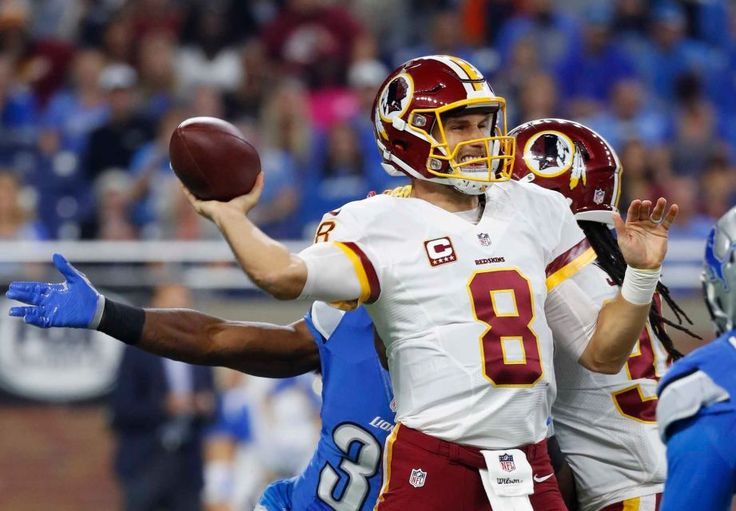 Redskins vs. Lions;   -   October 23, 2016  -  20-17, Lions  -  Washington Redskins quarterback Kirk Cousins throws during the first half of an NFL football game against the Detroit Lions, Sunday, Oct. 23, 2016 in Detroit.