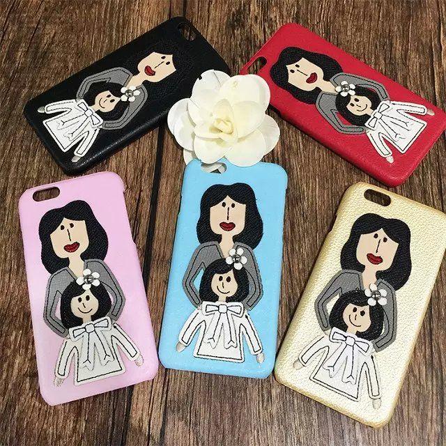 個性的iPhone7/6sケースdolce gabbanaドルチェ&ガッバーナDGケース携帯カバーiphone7 Plus/6キャラクター6plus女の子ママと一緒