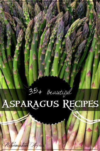 ~35+ Beautiful Asparagus Recipes~ | Reformation Acres