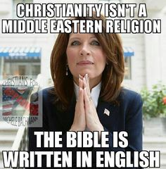 ...this actually came out of her mouth. Michelle Bachmann, one of the few people who could make Homer Simpson look like a rocket scientist. Honestly, this woman makes Sarah Palin look like a Rhodes Scholar!