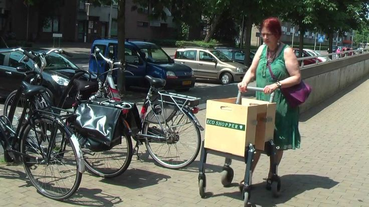 DIY Portable Shopping Cart for your bike.