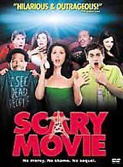Scary Movie  DVD Anna Faris, Jon Abrahams, Marlon Wayans, Carmen Electra, Dave S