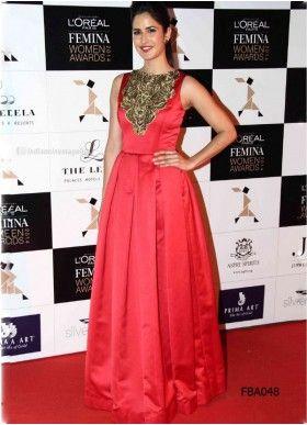 Katrina Kaif Anarkali At Loreal Femina Women Awards
