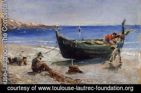 Toulouse Lautrec Fishing Boat Henri De Toulouse Lautrec