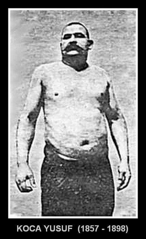 KOCA YUSUF Koca Yusuf, Yusuf İsmail, Korkunç Türk (d. 1857, Şumnu, Bulgaristan - ö. 4 Temmuz 1898 Atlantik Okyanusu), Deliormanlı efsanevi Türk güreşçidir.  Mindere çıkan ve grekoromen güreşi yapan ilk Türk pehlivanı olduğu sanılmaktadır. 1885 yılında Kırkpınar başpehlivanı olmuş; 1894 yılından itibaren Avrupa ve ABD'de devrin en ünlü güreşçileri ile güreşmiştir. 144 kilo sıkletindeki sporcu, 1.88 metre boyundaydı. ABD turnesinden ülkesine dönerken bir gemi kazasında yaşamını yitirdi.