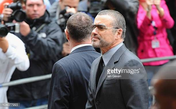 George Michael appears for sentencing at Highbury Corner Magistrates Court on September 14 2010 in London England The singer was arrested on July 4...
