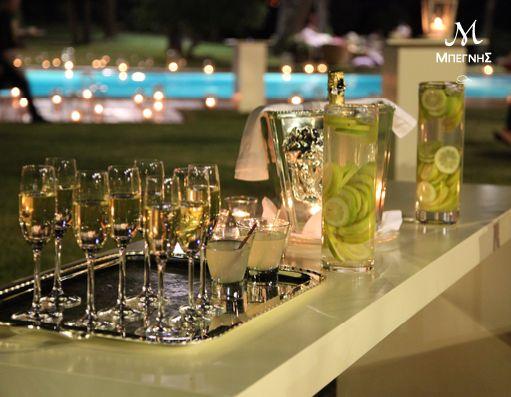 Welcome... to the dream!  Ένα επιλεγμένο welcome drink υποδέχεται τους καλεσμένους σας... οδηγώντας τους σε ένα ονειρικό σκηνικό, γεμάτο πολυτέλεια και υψηλή αισθητική... στη δική σας δεξίωση!  #BegnisCatering #Catering #begnisclassics #gamos #wedding #business #party