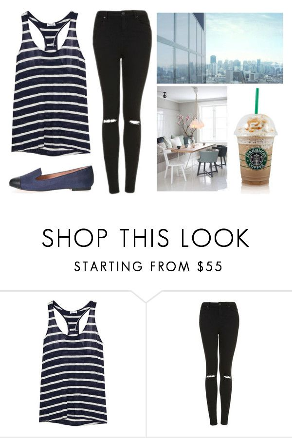 """""""we-e never getting back"""" by losageles ❤ liked on Polyvore featuring Splendid and Topshop"""
