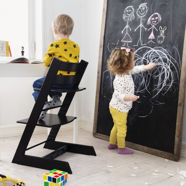 The Stokke #TrippTrapp chair was designed to bring children of any age or size to the family table. Where does your little one use their Tripp Trapp?