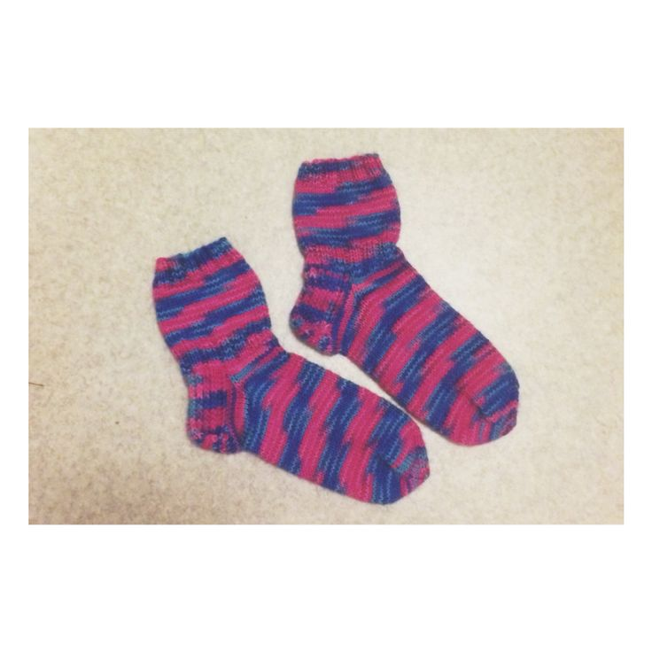 Wool socks for my sisters 30th birthday.❤️
