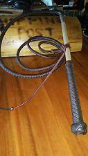 6ft 8 plait Kangaroo Stock whip Stockwhip