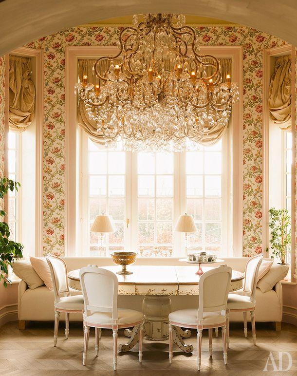 Как объединить столовую с кухней и гостиной: 20 примеров