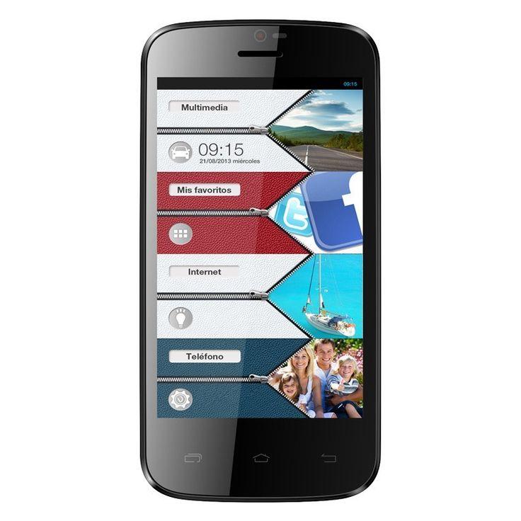 """Vexia Zippers 4"""" El primer teléfono inteligente de diseño con interfaz Zippers  Elige el Zippers Phone que más se ajuste a tu estilo. Un diseño atractivo y ultrafino en dos colores (blanco nacarado y negro carbono) con pantalla de 4,3"""" LCD QHD con tecnología IPS de 240 ppi y procesador Intel® Atom™ http://www.vexia.eu/es/"""