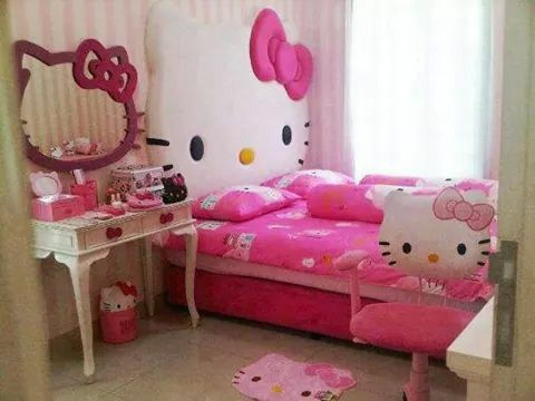 74 Best Hello Kitty Bedrooms Images On Pinterest  Hello Kitty Captivating Hello Kitty Bedroom Designs 2018