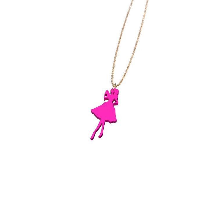 #Zazzy Fashion Doll Necklace by Elena Indolfi