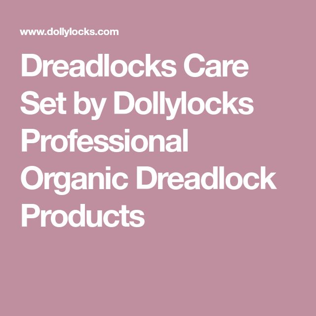 Dreadlocks Care Set by Dollylocks Professional Organic Dreadlock Products