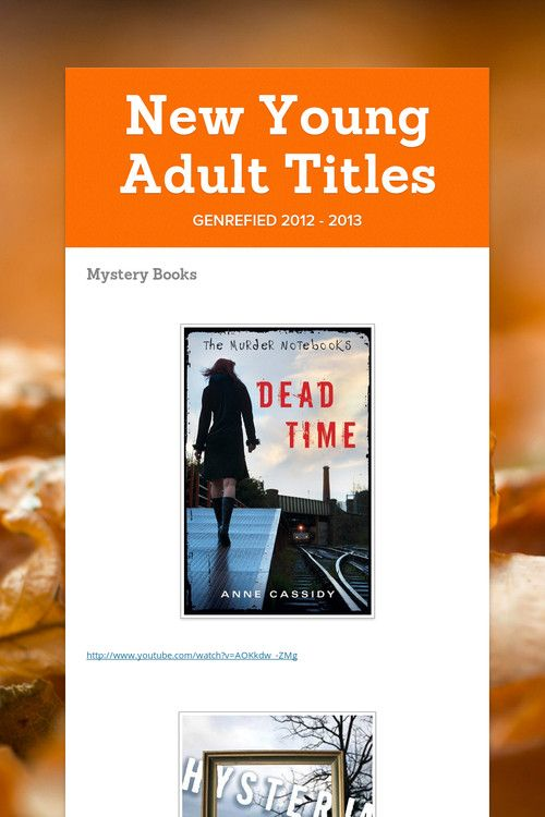 young adult titles