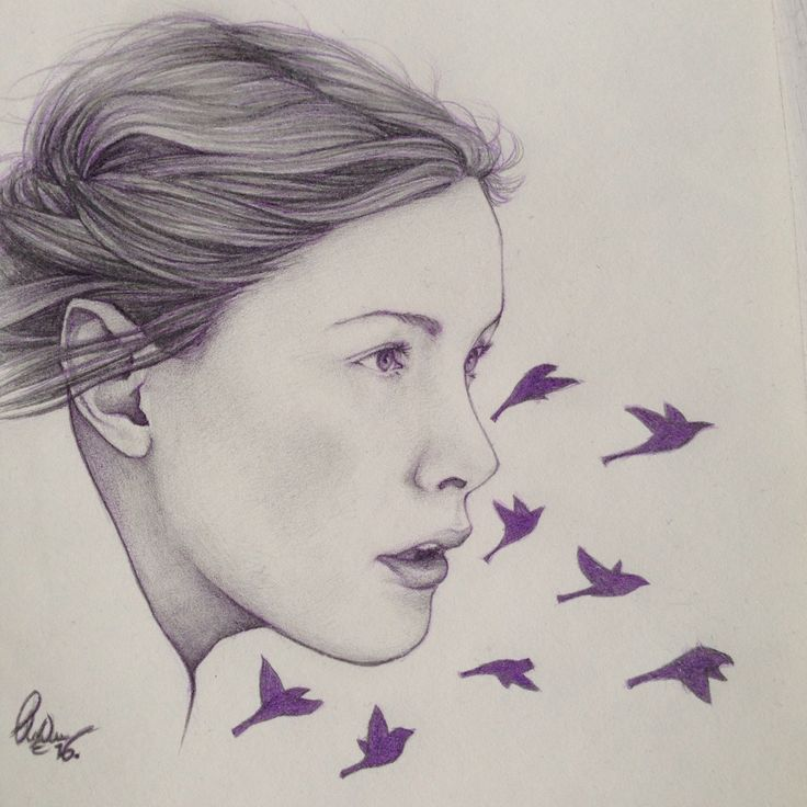 Arwen.  ~Free like the birds in the sky~  By me (Clara Niemann)
