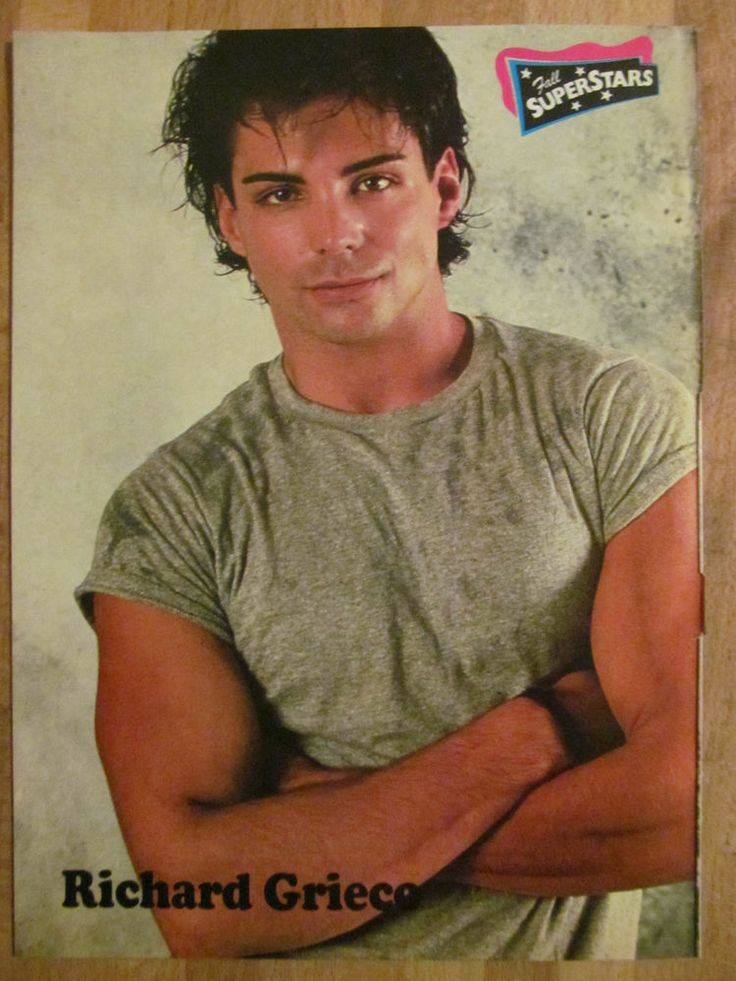 Richard Grieco, Full Page Vintage Pinup
