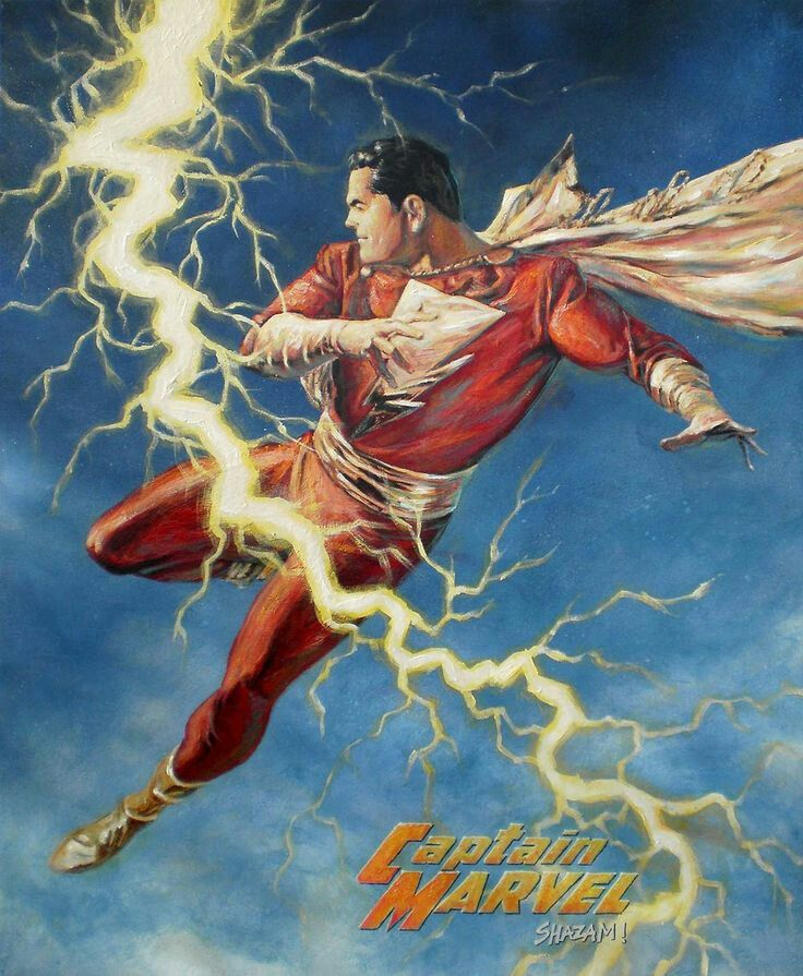 DC Detective Comics Shazam Captain Marvel By Alex Ross