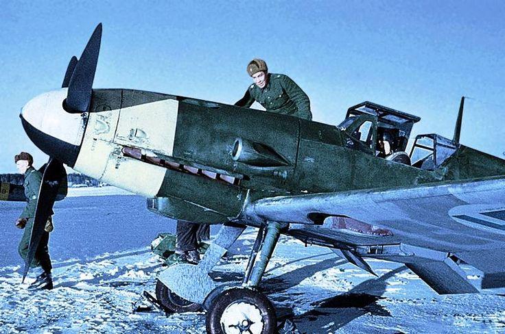 Ilmavoimat Messerschmitt Bf 109G-2 Continuation War