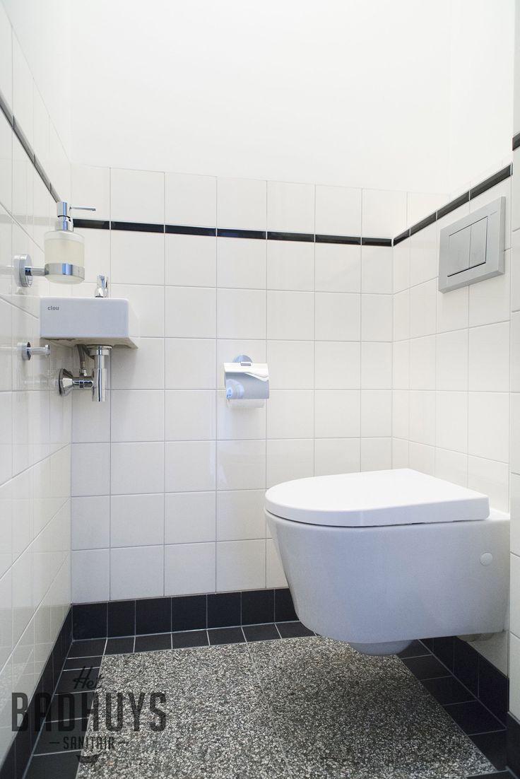 Modern toilet met klassieke elementen | Het Badhuys Breda