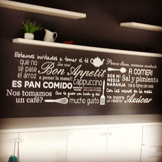 #diseño #vinilo #pared #cocina #interior #calcos #stikers #tucuman