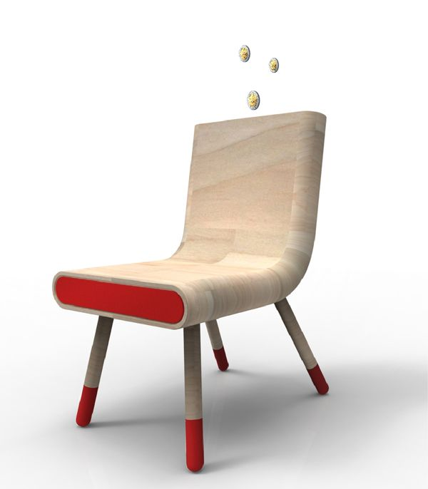 Break For Emergency: Anti Crise Chair By Pedro Gomes   A Piggy Bank Chair!