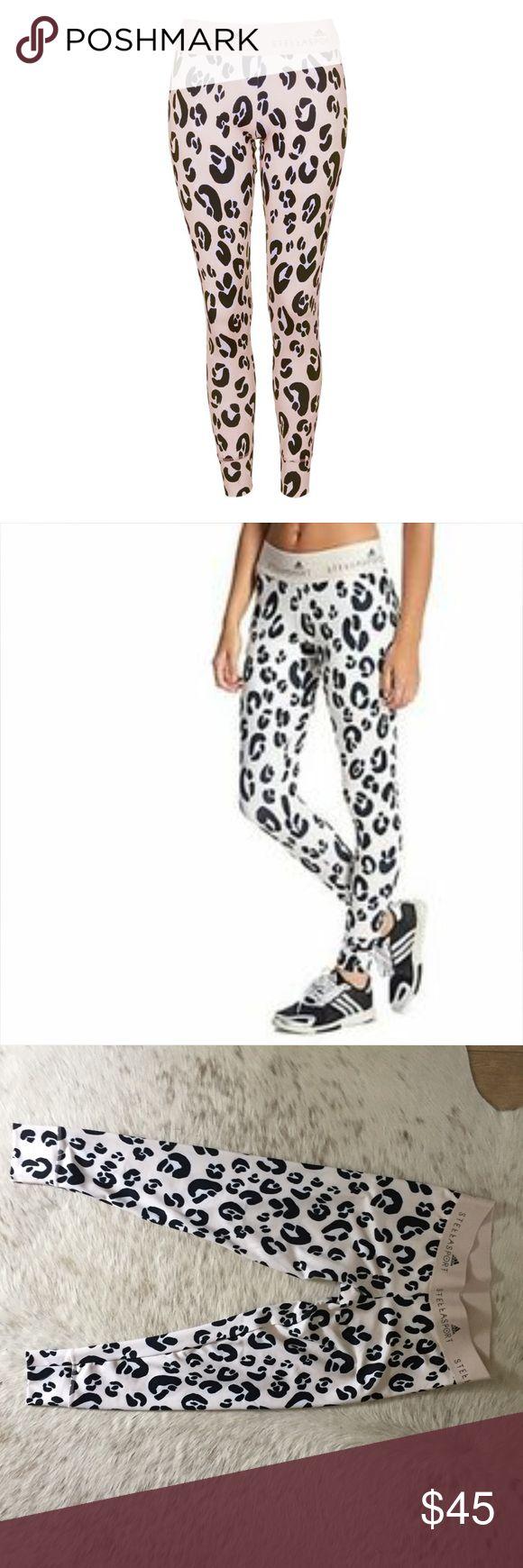 Stella McCartney Adidas leopard leggings Medium Stella Sport for Adidas leopard leggings. Size medium. Gently worn, great condition. Adidas by Stella McCartney Pants Leggings