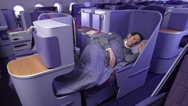 Thai Airways Airbus A380 Royal Silk business class seats